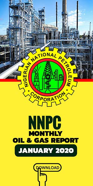 NNPC Monthly oil and gas report january 2020