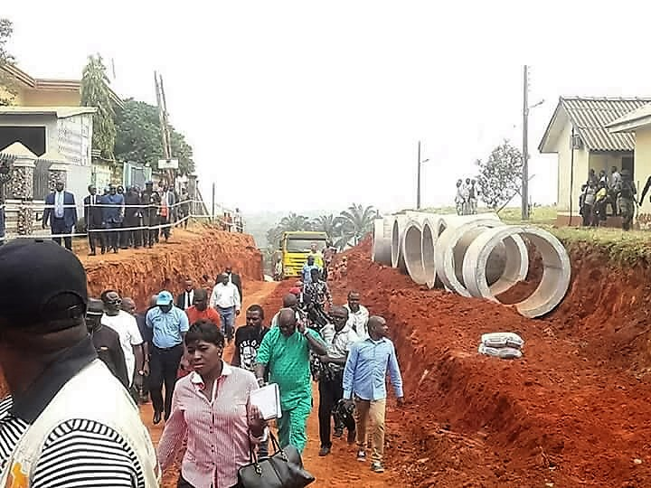 Flood Control: Work Commences At DLA/Jesus Saves Roads, Others