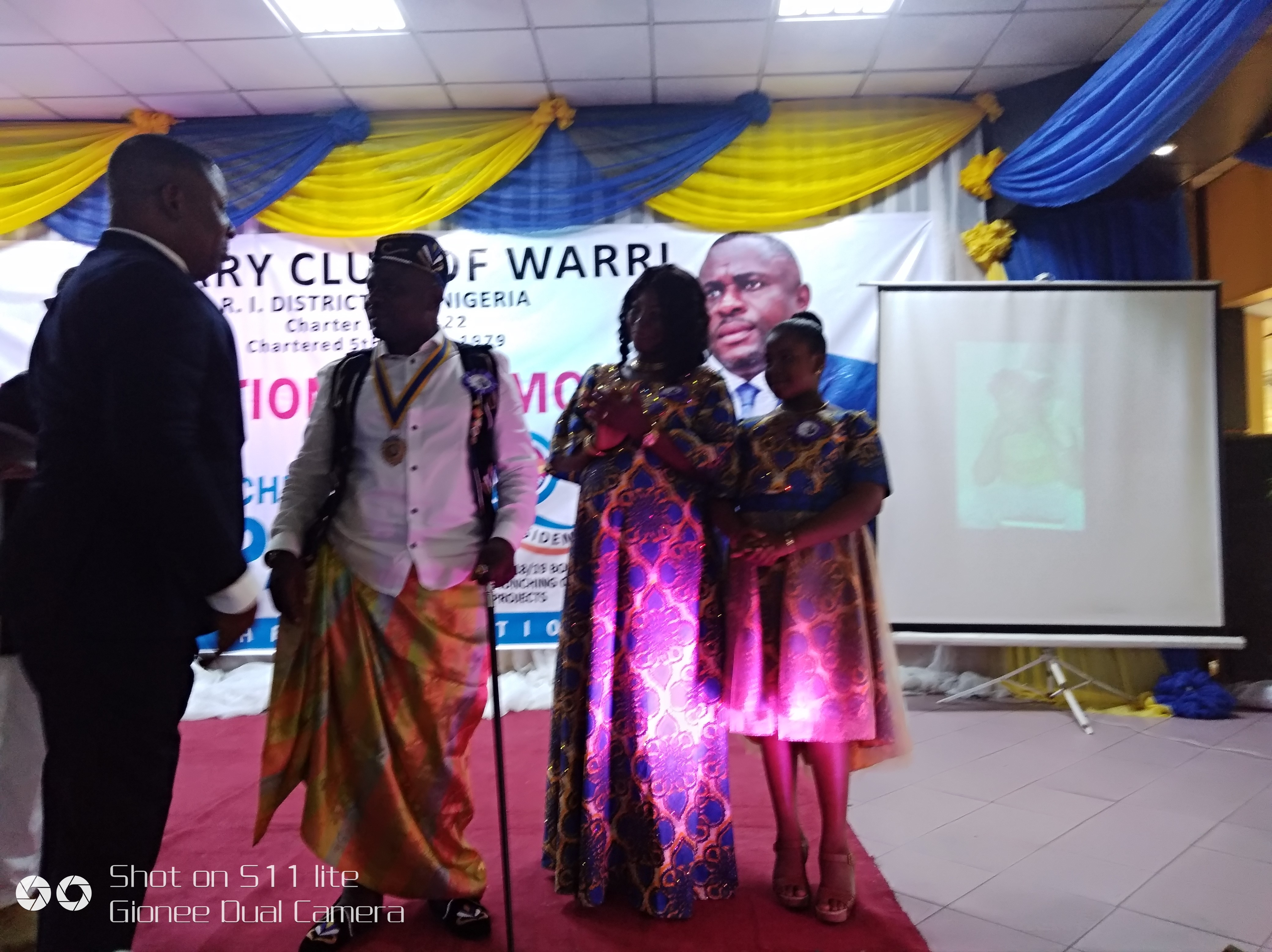 Rotary Club of Warri gets 40th President, targets N25 million projects
