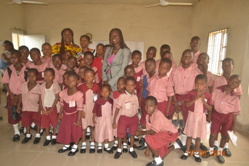 Edu-Support: A pupil on bare foot inspired my donation of shoes, socks –Abiwanye