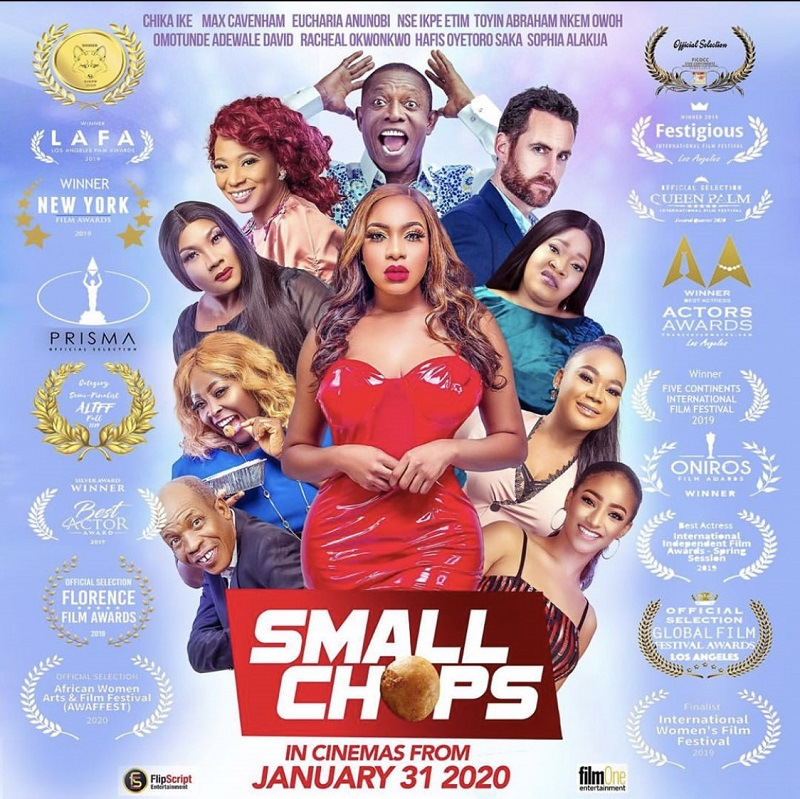 Small Chops hit Cinemas nationwide from January 31- Chika Ike