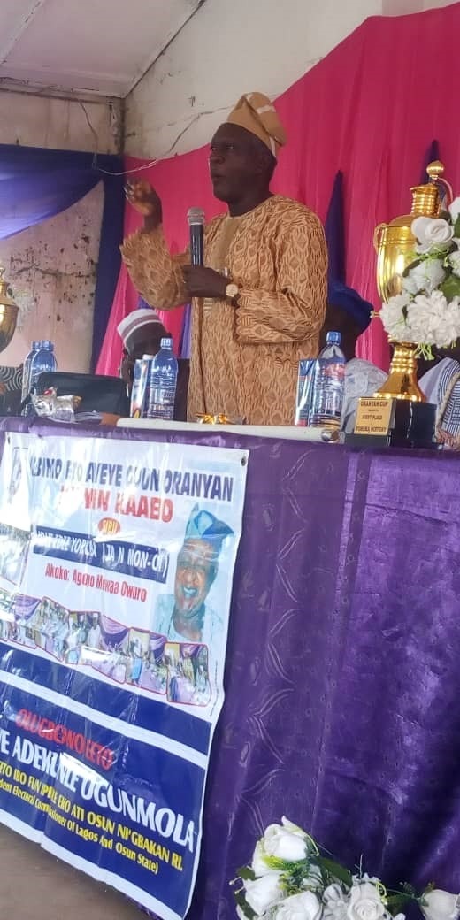 Oranyan Festival has diversified into issues geared towards Nation Building -Bishop Ladigbolu