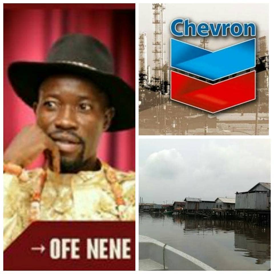 OPEN LETTER TO THE GENERAL MANAGER, POLICY, GOVERNMENT AND PUBLIC AFFAIRS, CHEVRON NIGERIA LIMITED, MR. ESIMAJE BRIKKIN