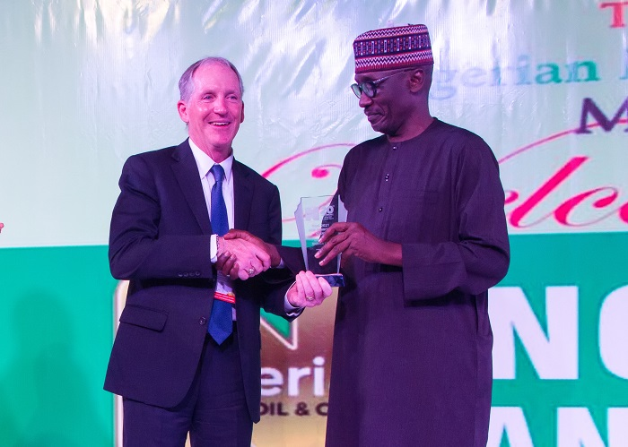 Chevron Receives Award at 2021 NOG Industry Dinner and -Freshangle News