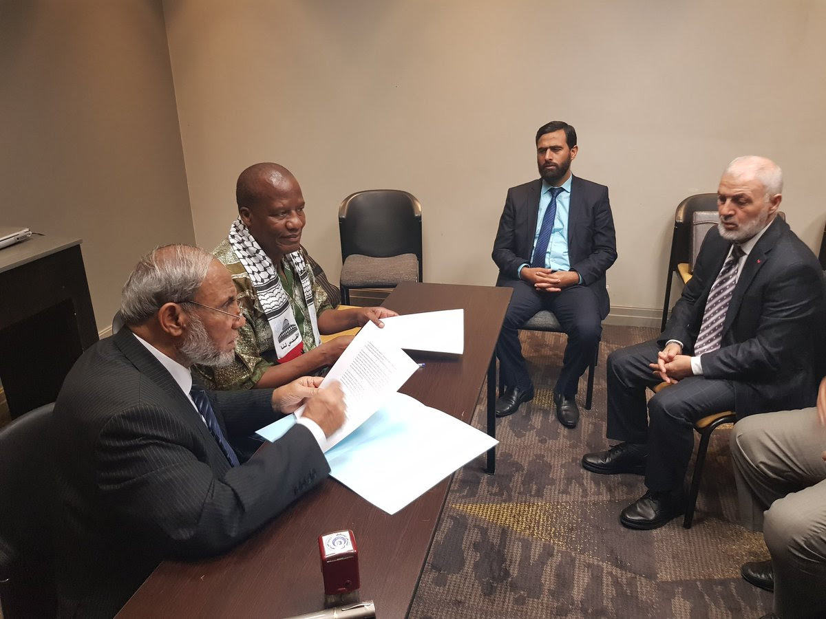 ANC Parliamentary Caucus signs MoU with Hamas Parliamentarians