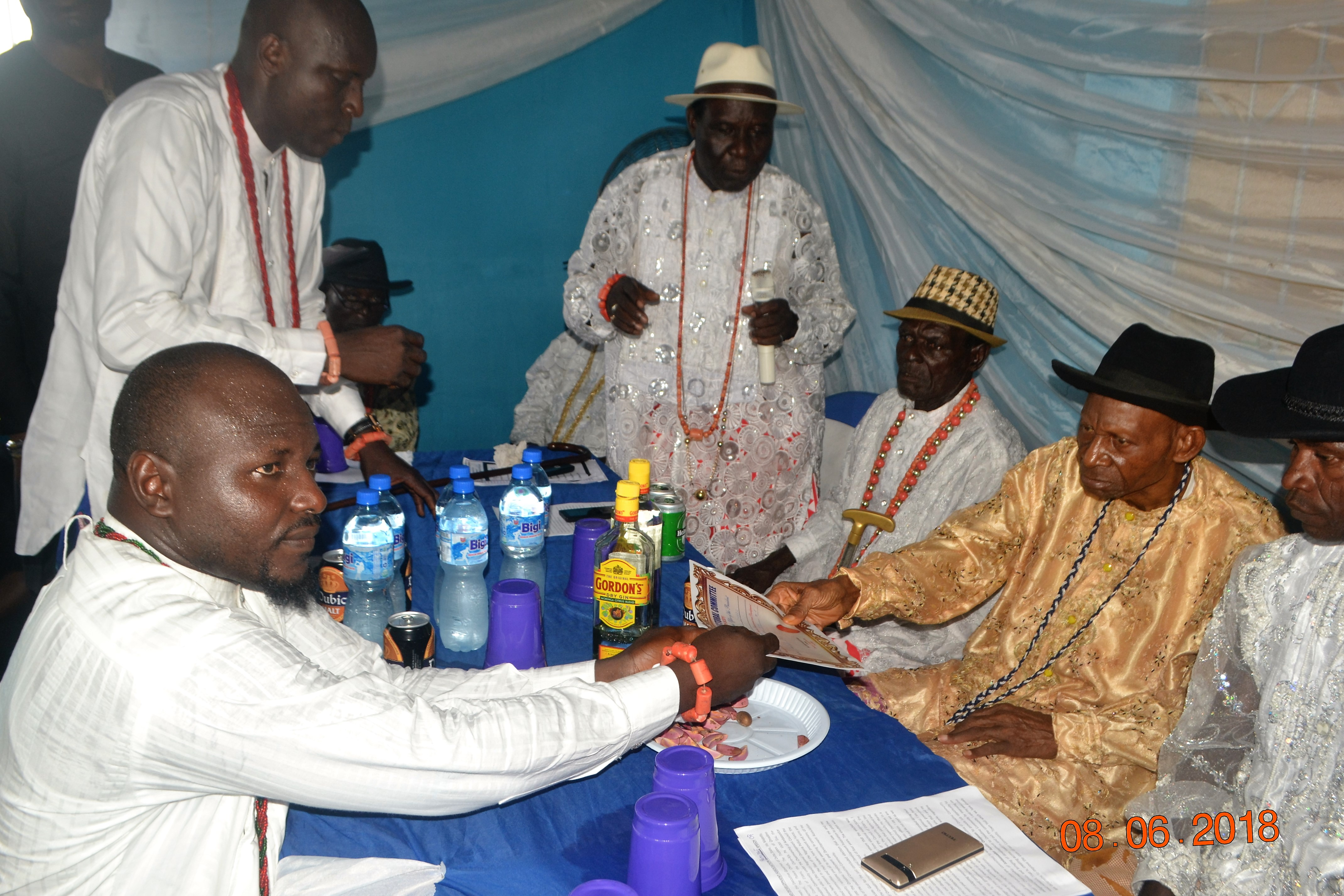 Make peace, security, development your set targets, Olare-Aja tells OEDA