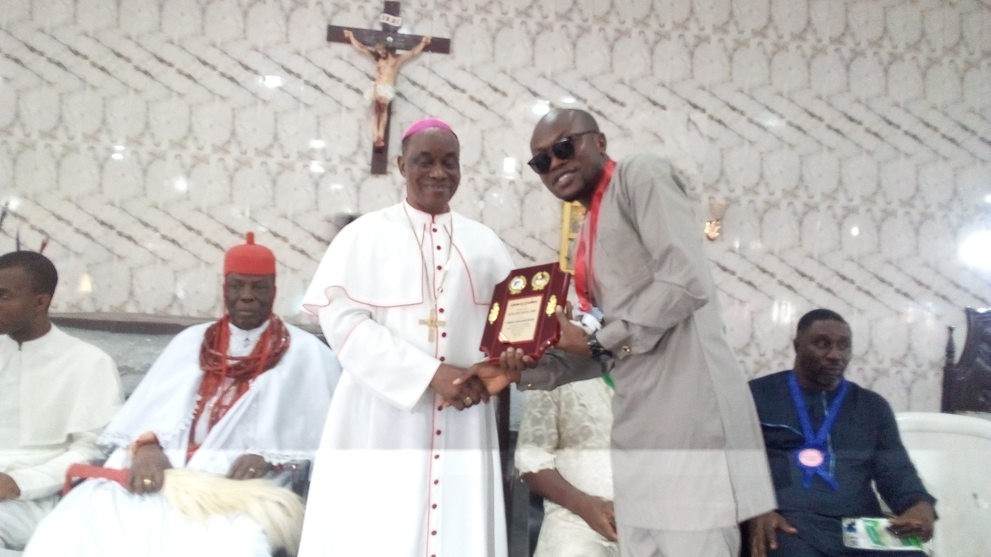 Catholic Church honours Tidi, Onoyake, Makinde