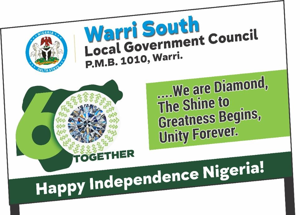 Nigeria @ 60: Tidi foresees greatness