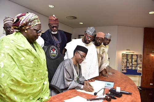El-Rufai makes history, signs budget with 71 percent capital vote