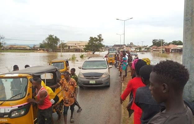 Flood submerges over nine LGAs in Kogi, as lawmaker claims his constituents sleep by the road-side
