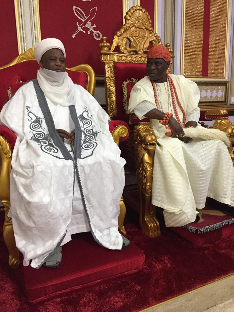 Sultan of Sokoto arrives Delta for Olu of Warri coronation anniversary