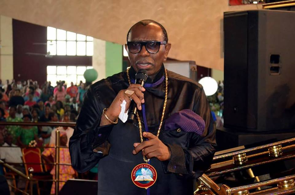 Our generation has failed, Oritsejafor declares