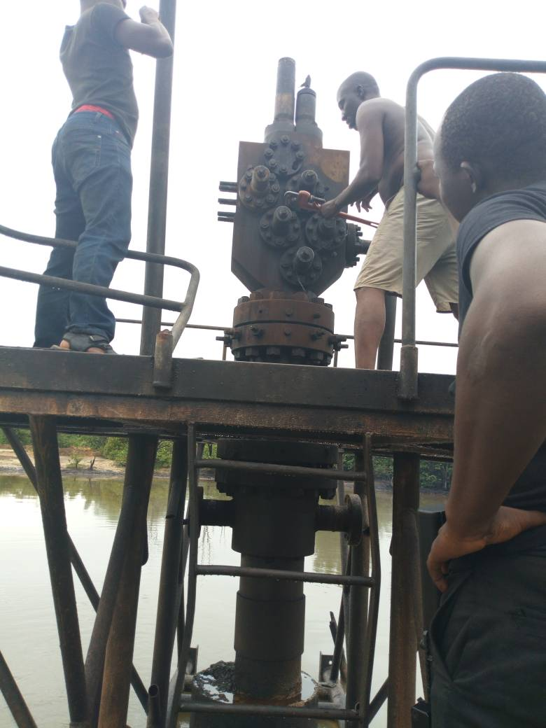 Illegal Refinery: We're afraid of those operating it- Ugbodede indigenes