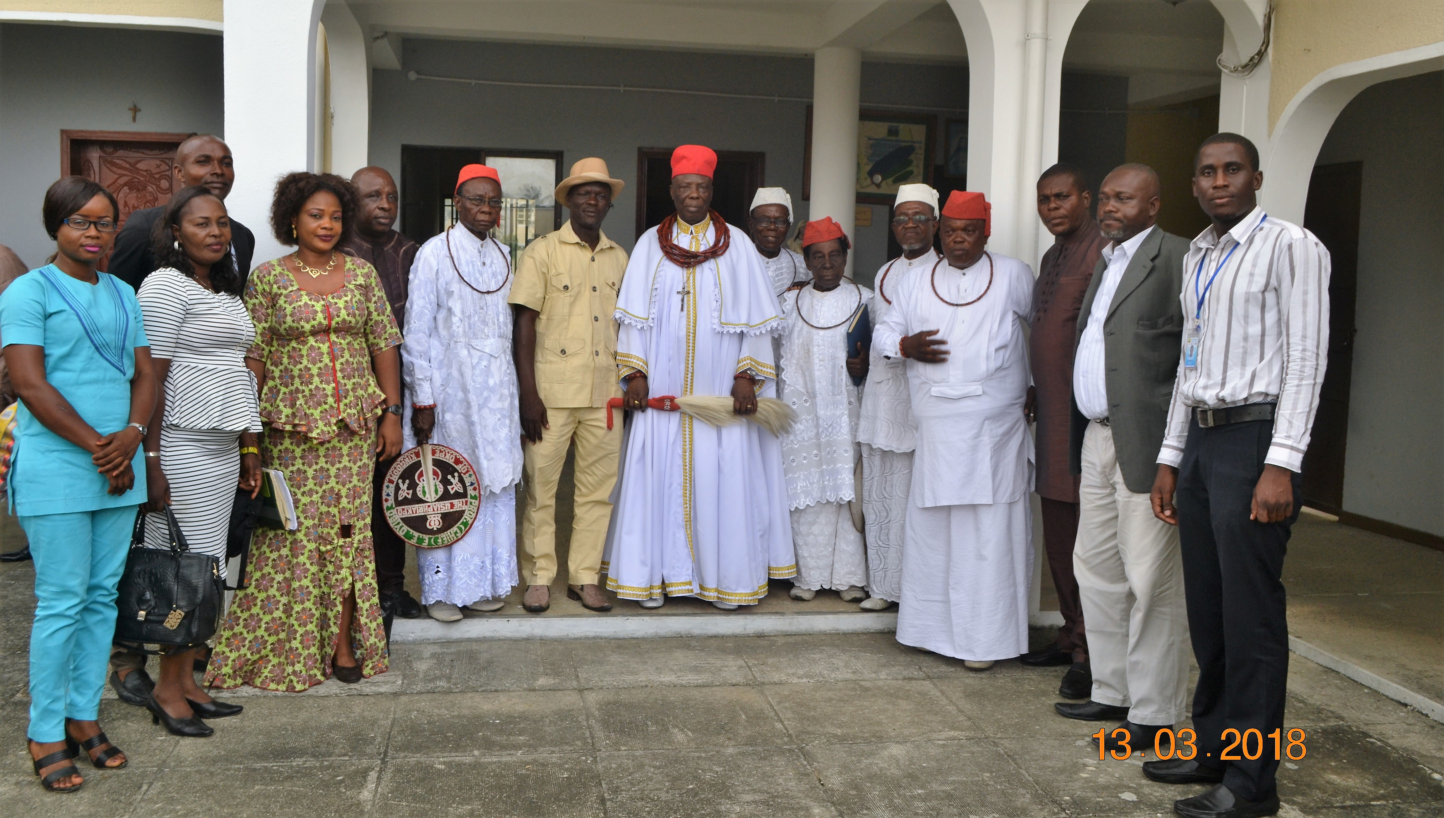Replicate your conflict resolution professionalism in Okpe, Monarch tells CEPEJ