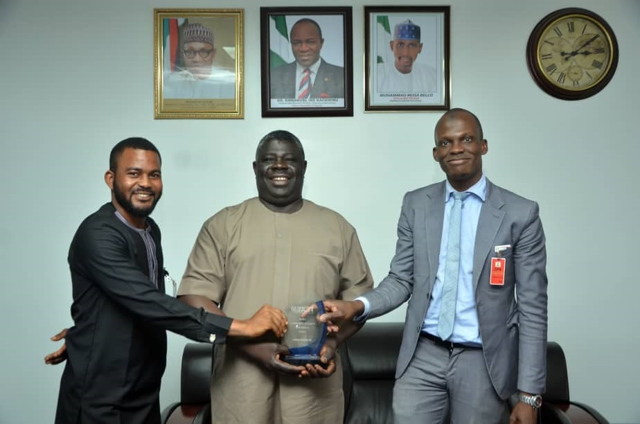 DPR Director, Ladan receives award for commendable leadership