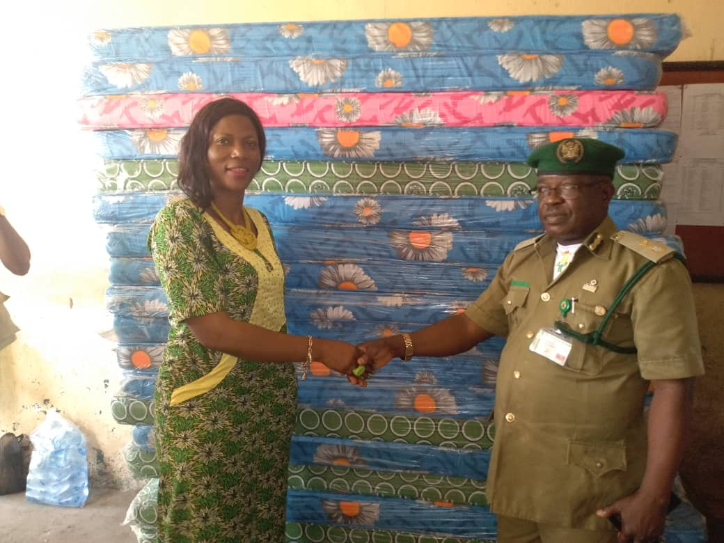 Warri south provides comfort to prison inmates