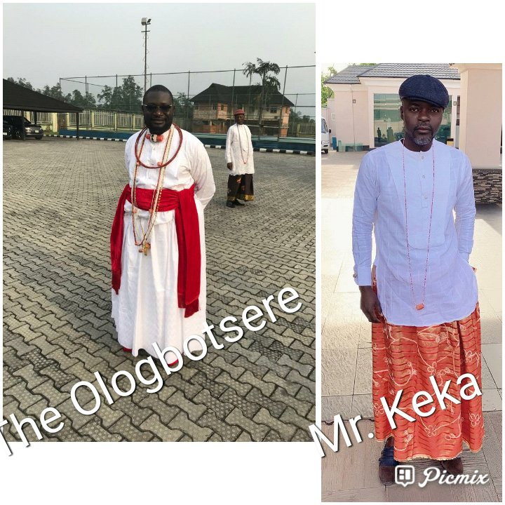 Born-Day: Keka felicitates with Warri Traditional Prime Minister, Emami