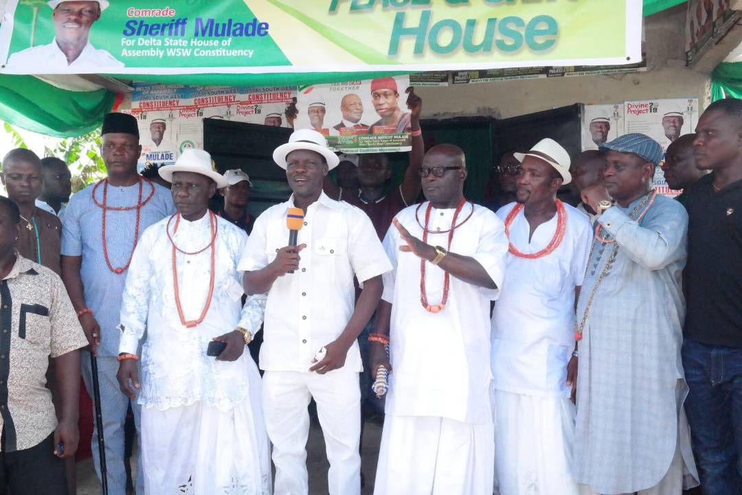 2019: CSM consults Ogbe-Ijoh Monarch