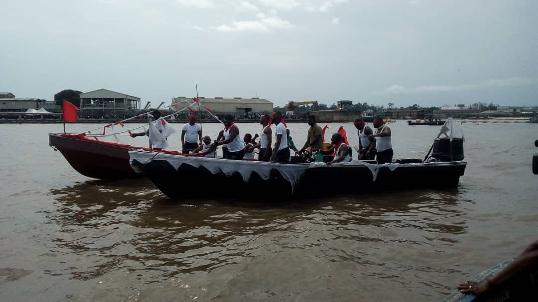 Ugborodo Community scale up protests against Chevron after Okowa's intervention, chant war songs