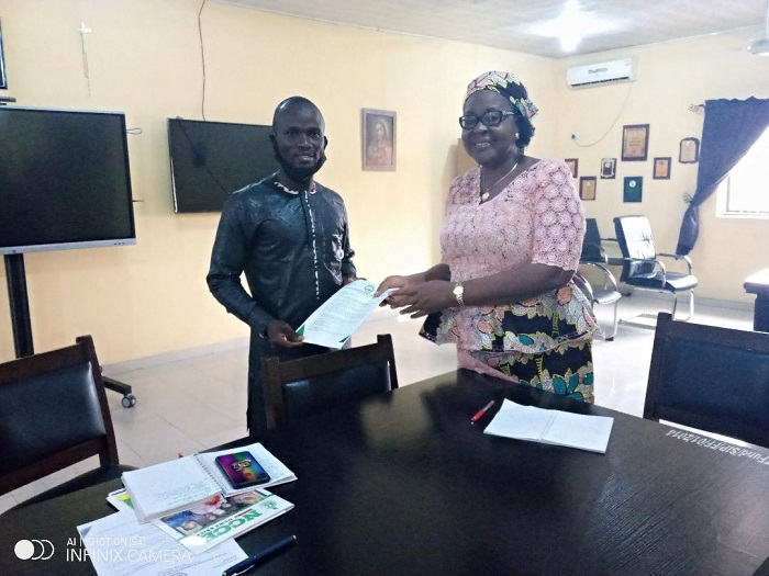 NANCES to Prof. Edema: Thank you for reviving COEWA's relationship with TETFUND