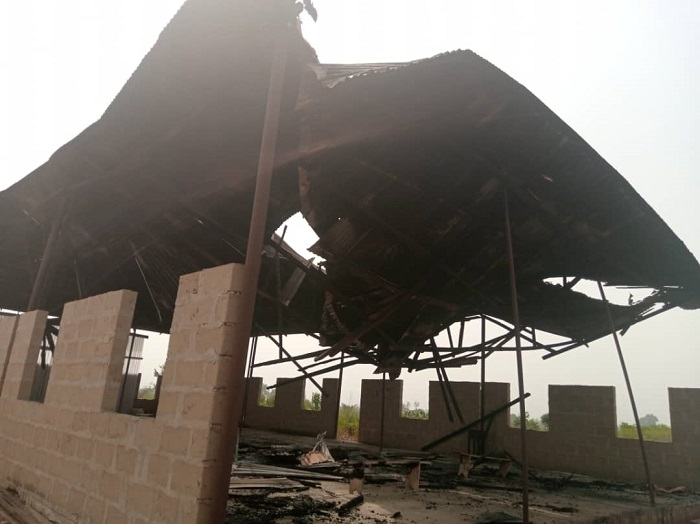 Exclusive: Mother of Perpetual Help Catholic Church Kwale gutted by Fire