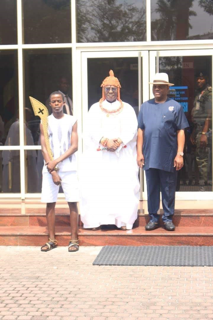 Oba of Benin, Amanyanabo of Opobo shouldn't be second class to anyone-Wike