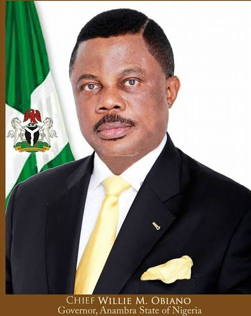 Governor Obiano's Wife Tears His Shirt In Public For Inviting Mistress To State Function