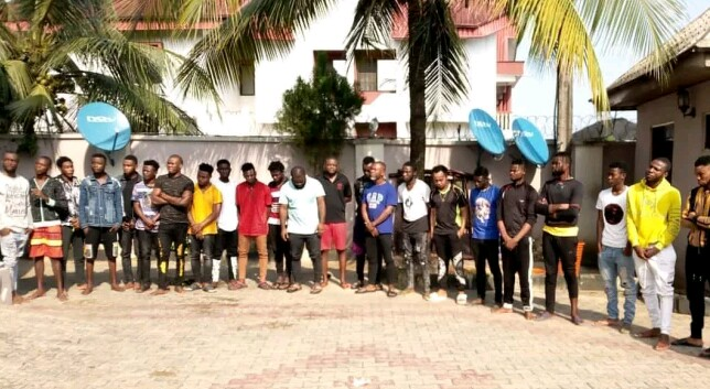 EFCC Arrests Operators, Trainees of Yahoo Academy in Akwa Ibom