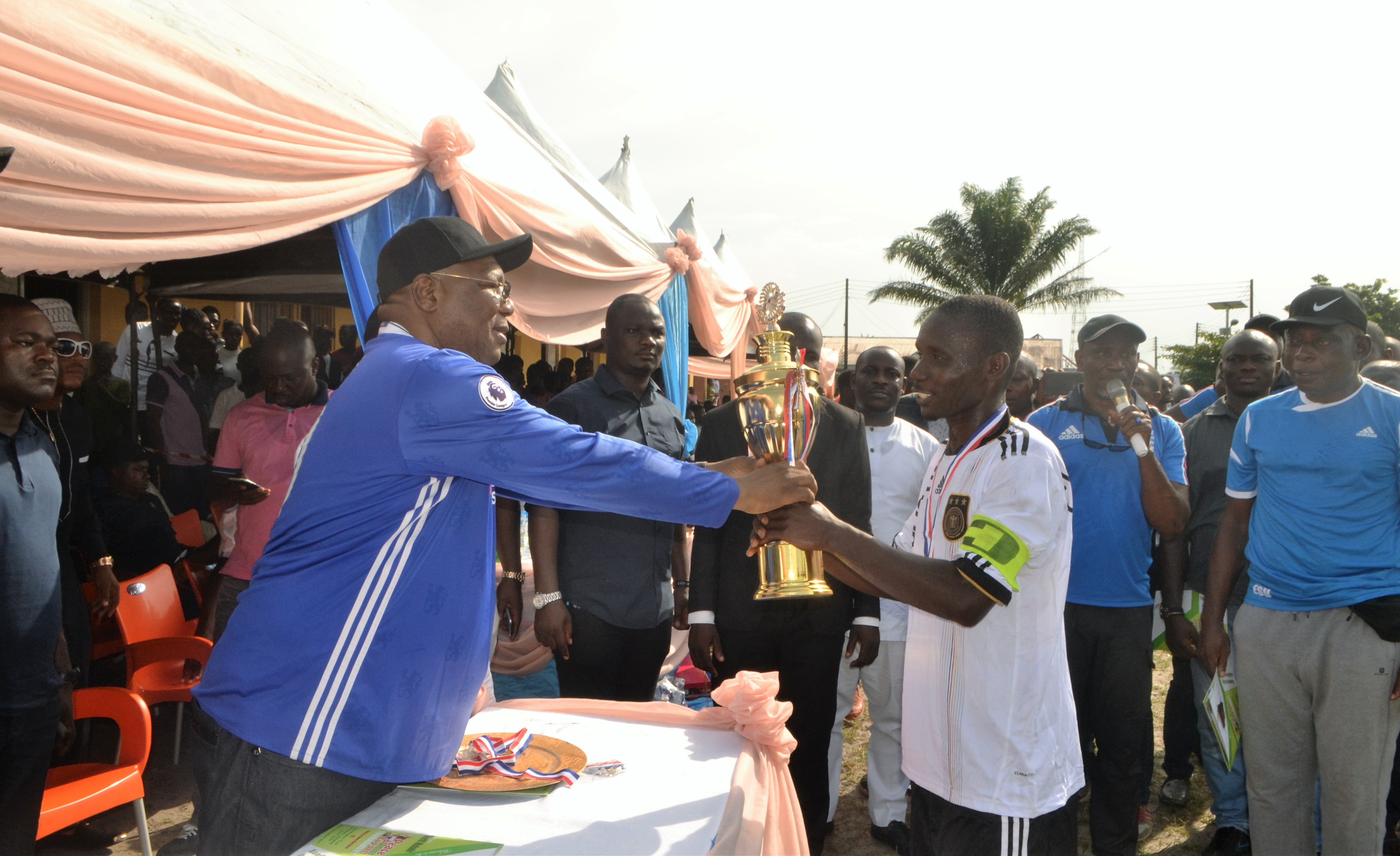 Why I organize annual football tourney-Mulade