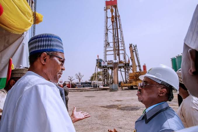 Frontier Exploration Gets Underway as President Buhari Flags off Oil Drilling in Gongola Basin