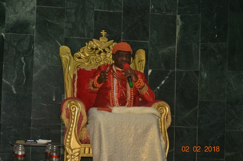 Unite Ugboegungun with good attitude, Warri Monarch charges new community leadership