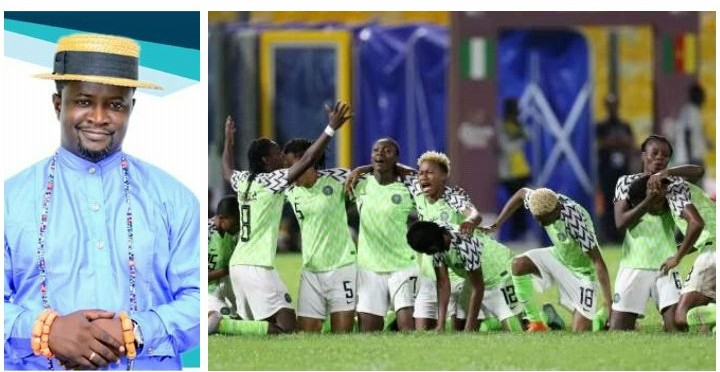 Emiko felicitates with NFF, Super Falcons over 9th AWCON win