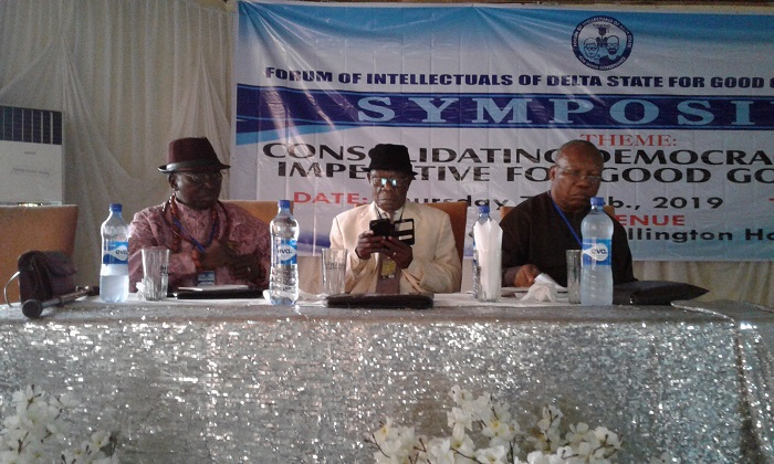 Corruption: Delta intellectuals call for strengthening of anti-graft agencies