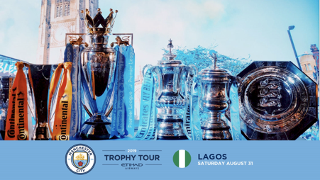 Manchester City brings fan experience to Lagos as part of its Global Trophy Tour