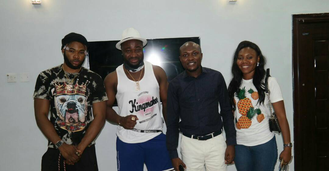 HarrySong strikes partnership with Tidi on ' Real Warri ' Narrative