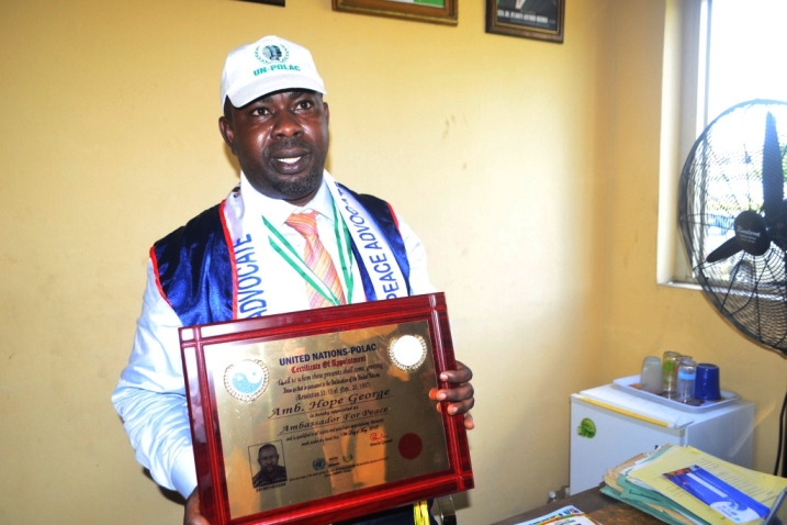 George joins Uduaghan, Manager as UN-POLAC awardees