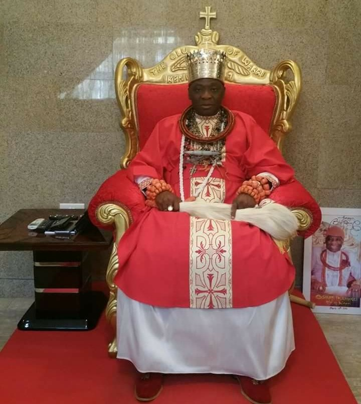 Coronation Anniversary: Olu of Warri departs for Itsekiri ancestral home
