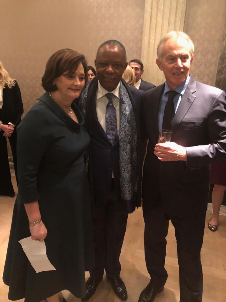 Tony Blair, Wife host Nigerian business icon