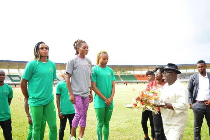 Okowa  is determined to ensure Delta Athletes excel in International Championship- Oborevwori