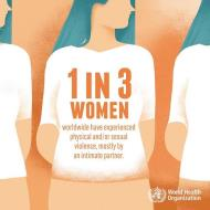 One-in-Three women experience physical or sexual violence – WHO