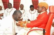 Just In: Chief Ayirimi Emami installed Ologbotsere of Warri Kingdom