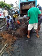 Warri South Council evacuates debris resulting from EndSARS protests