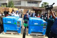 Vaccine Storage: Governor Fayemi commissions 187 Solar Direct Drive Cold Chain Equipment